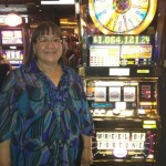 женщина выиграла в казино