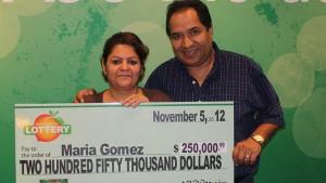 фото победителя лотереи